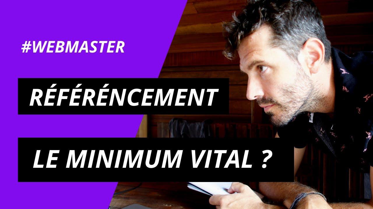 SEO - Le minimum Vital à faire sur son site