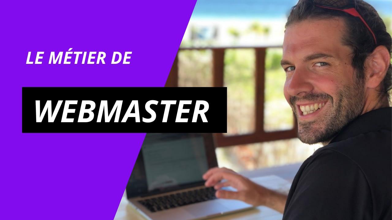 Le métier de Webmaster